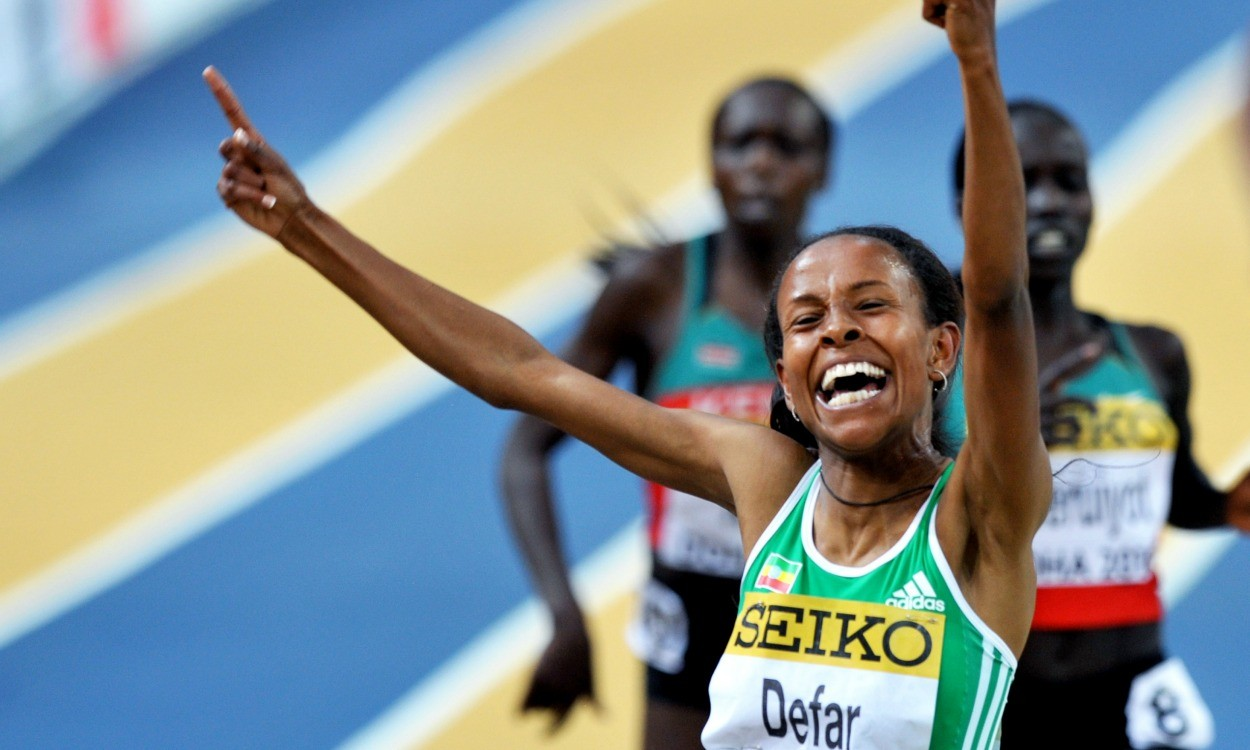 Meseret Defar runs 8:30.83 3000m on track return – global update