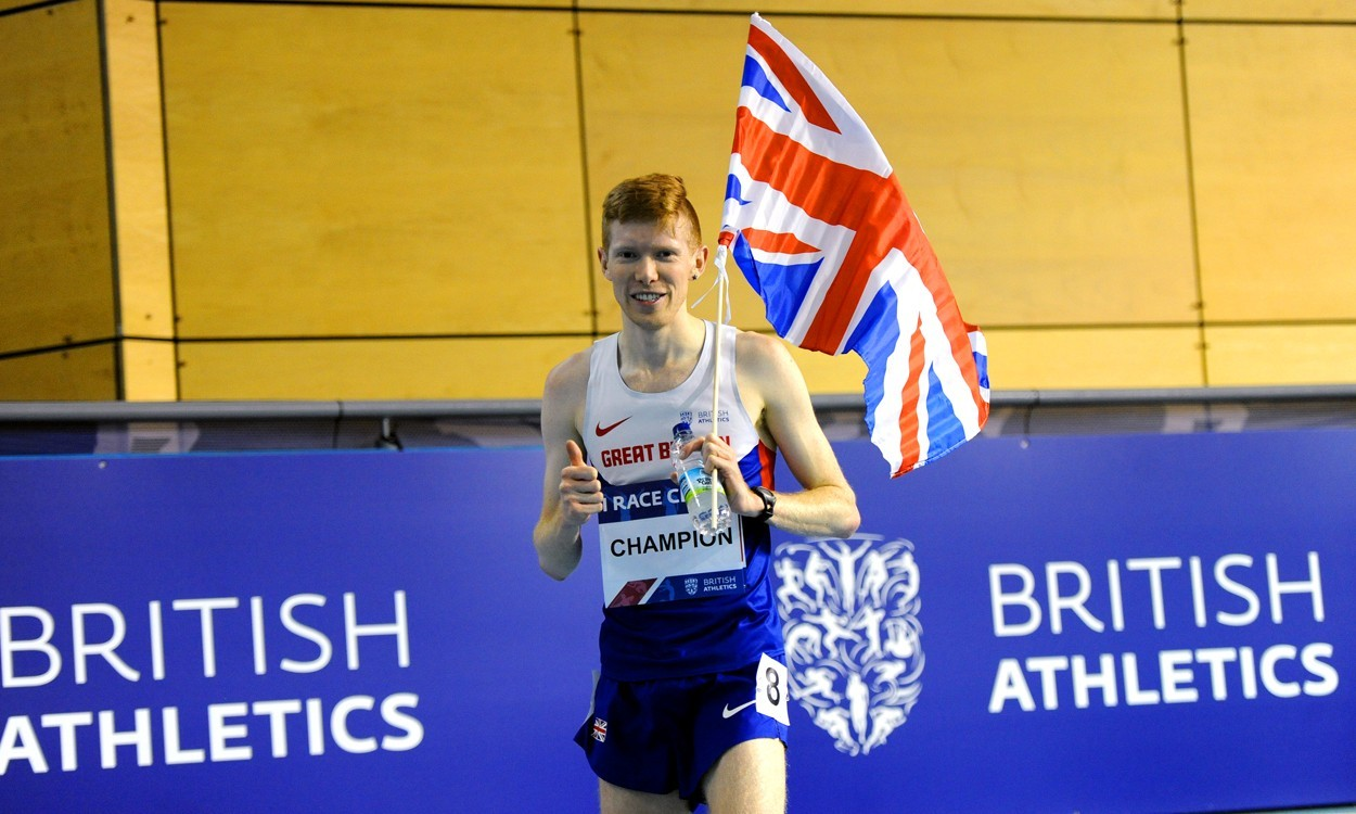 Tom Bosworth claims 20km race walk title – weekly round-up