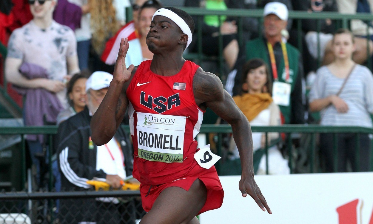 The Trayvon Bromell boom