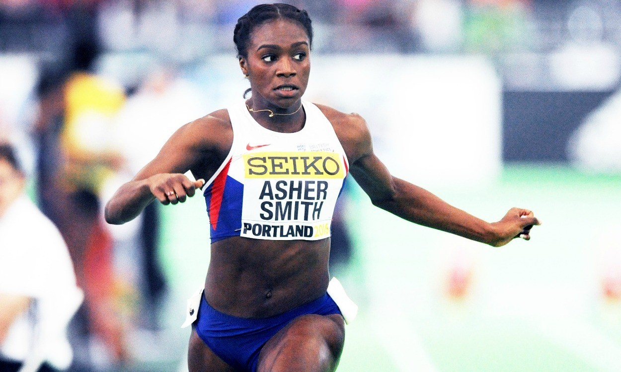 Dina Asher-Smith and Asha Philip progress in Portland