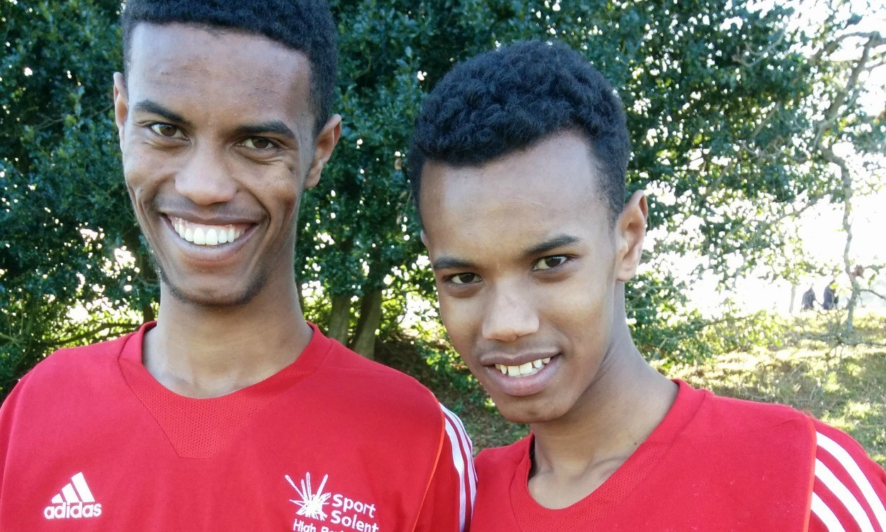 Sibling success for Mahamed and Zakariya Mahamed