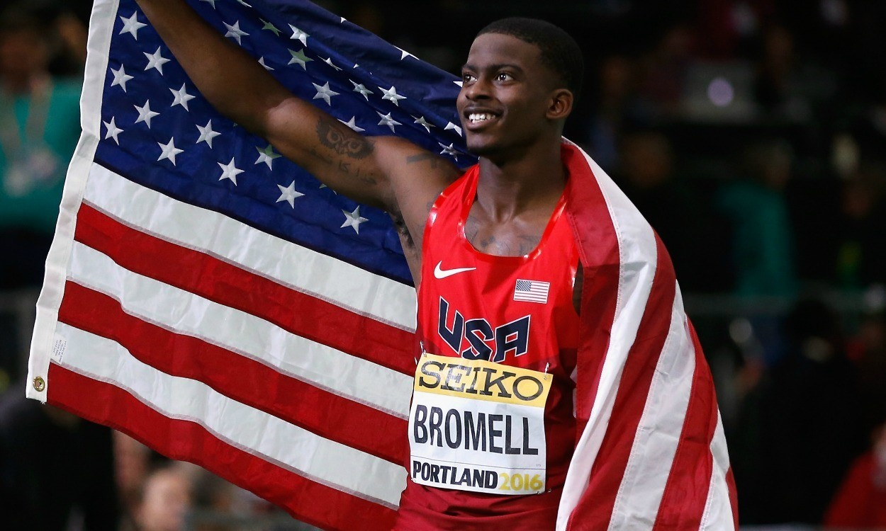 Trayvon Bromell set go far, and fast