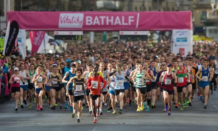 Vitality Bath Half Marathon 2015 start