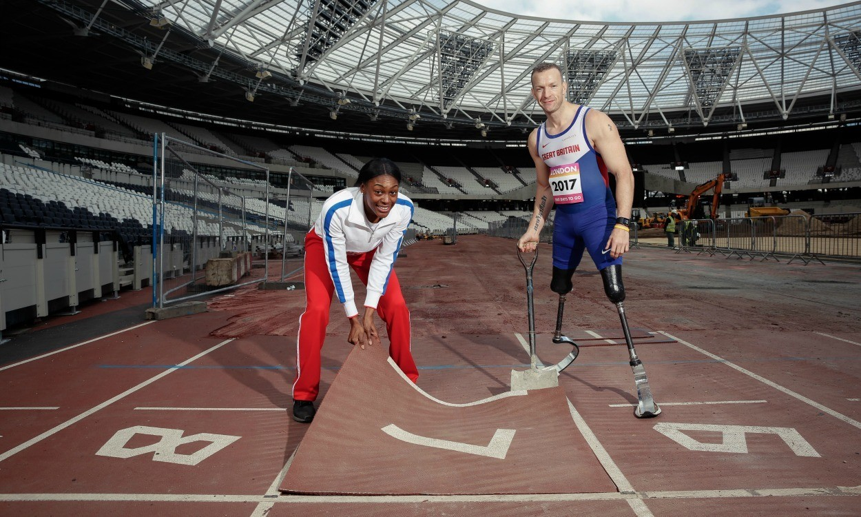 'Track transformation' for London 2017 begins