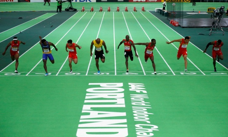 world indoor 60m final Christian PetersenGetty Images for IAAF