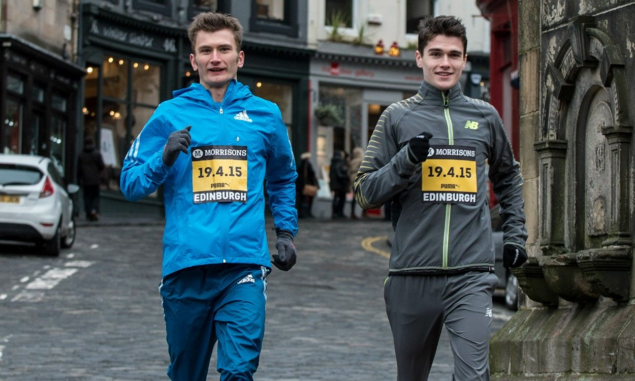 Brothers Derek and Callum Hawkins on GB Olympic marathon team