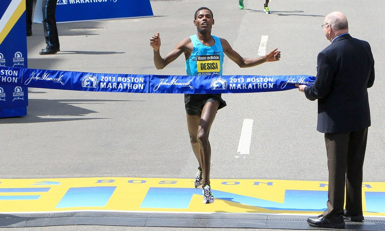 Lelisa Desisa to defend at Boston Marathon