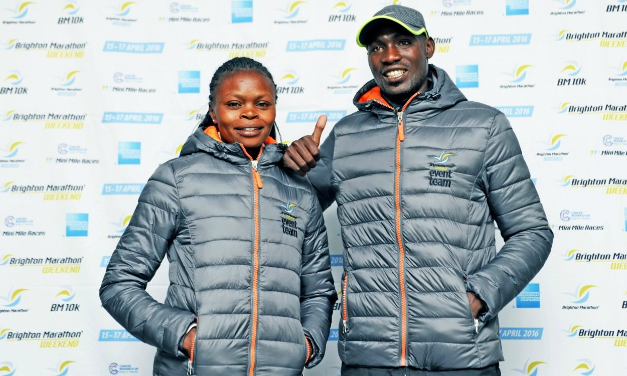 African athletes lead Brighton Marathon charge