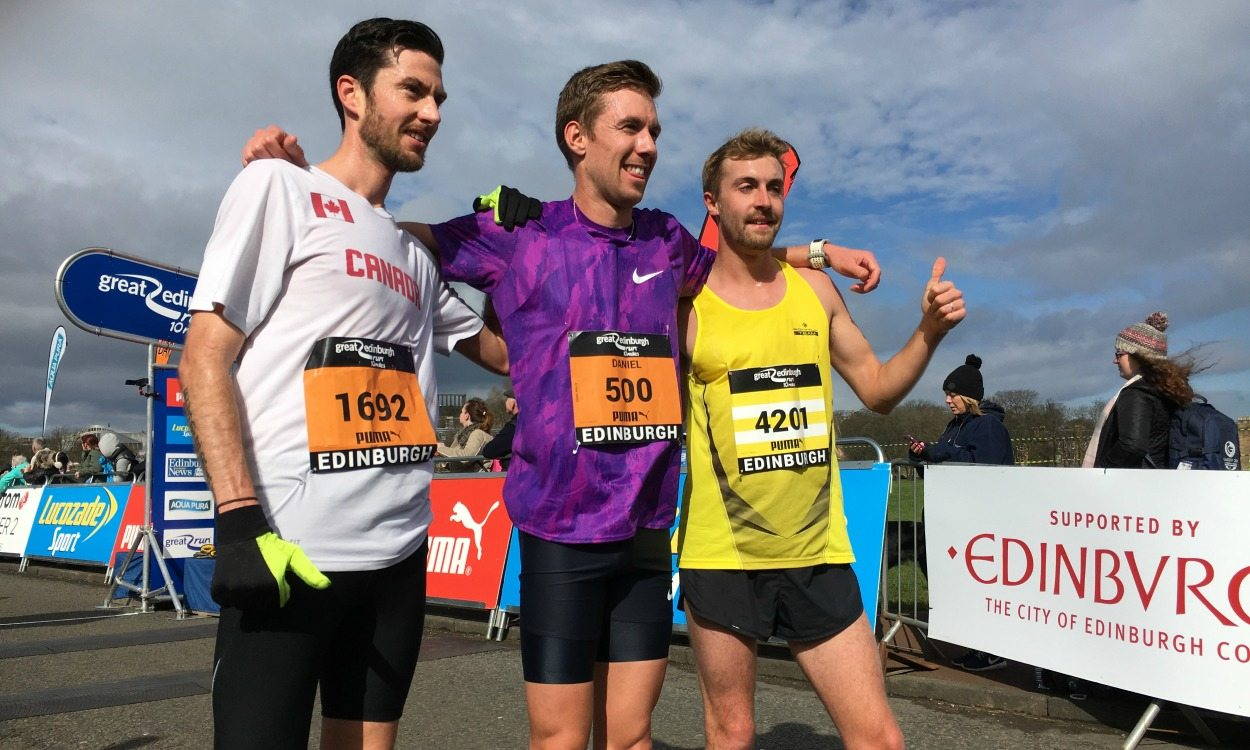 Partners claim Great Edinburgh Run double