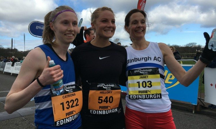 Great Edinburgh Run women