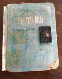 McColgan diary cover