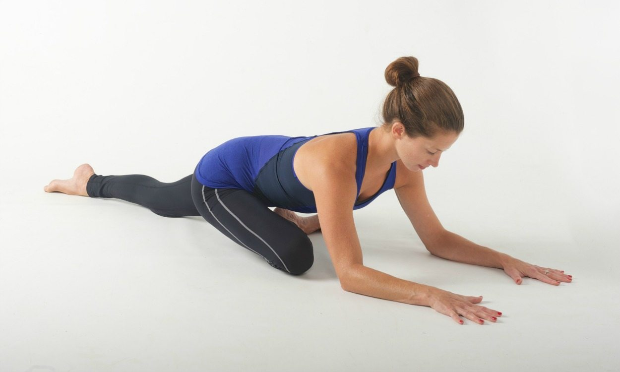 Gentle glute stretch