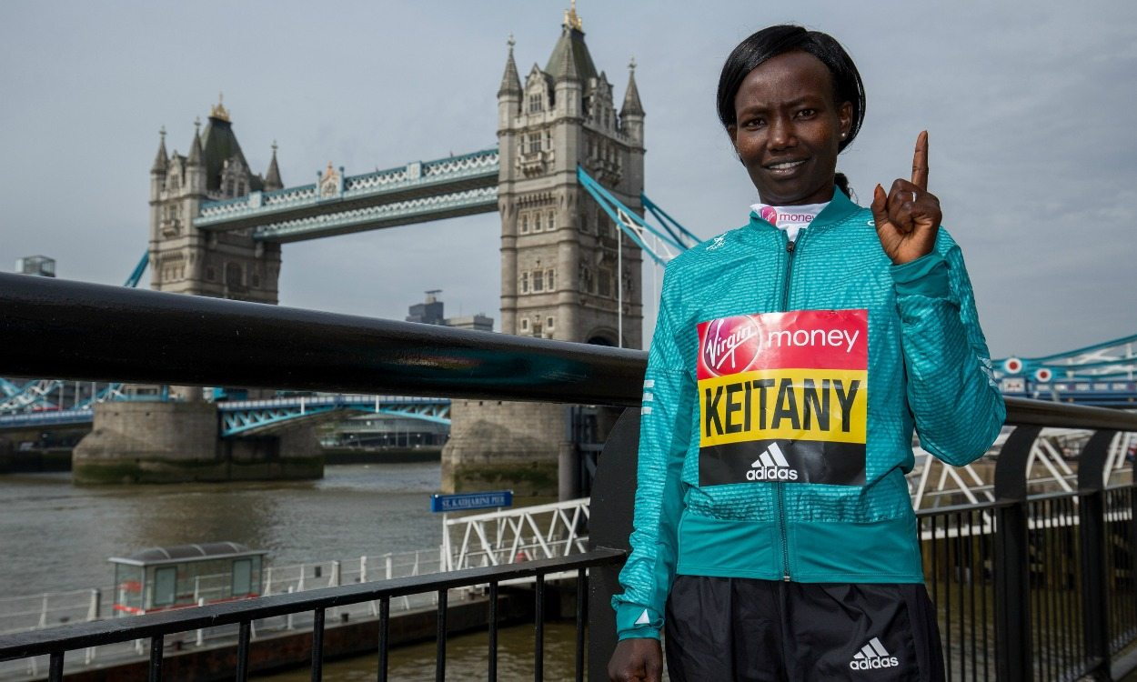 Mary Keitany ready to reclaim London Marathon title