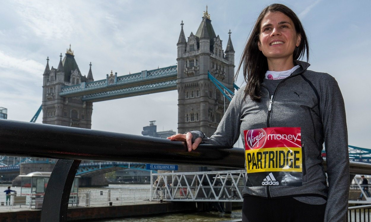 Susan Partridge: Olympic fight boosts London Marathon