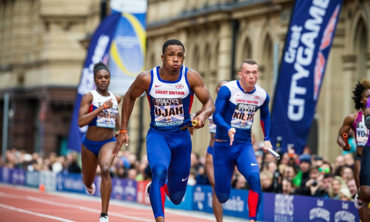 Richard Kilty and Chijindu Ujah to race at Great CityGames Manchester