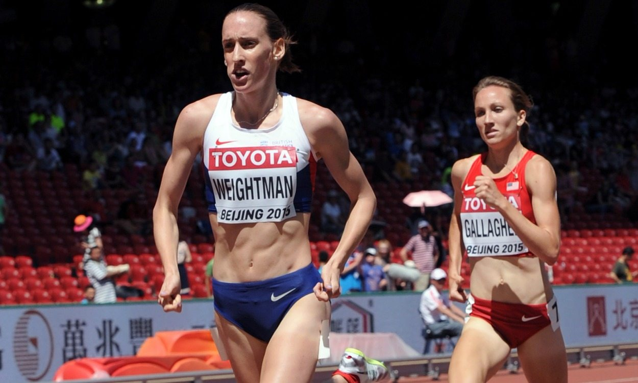 Post-Beijing pain for Laura Weightman