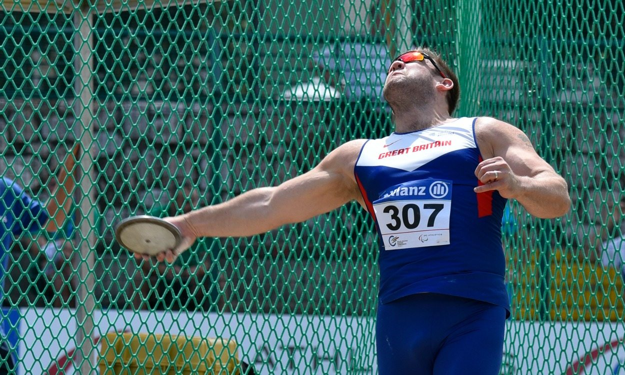 Gold for Dan Greaves in Grosseto
