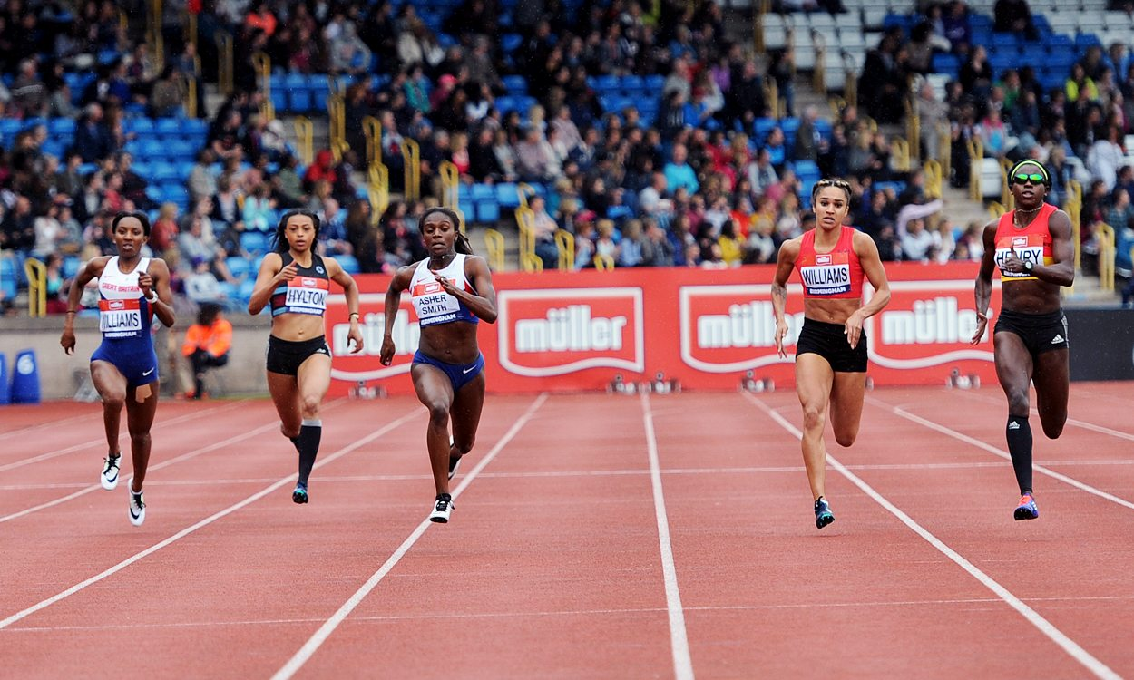 Dina Asher-Smith among athletes securing Olympic team places in Birmingham