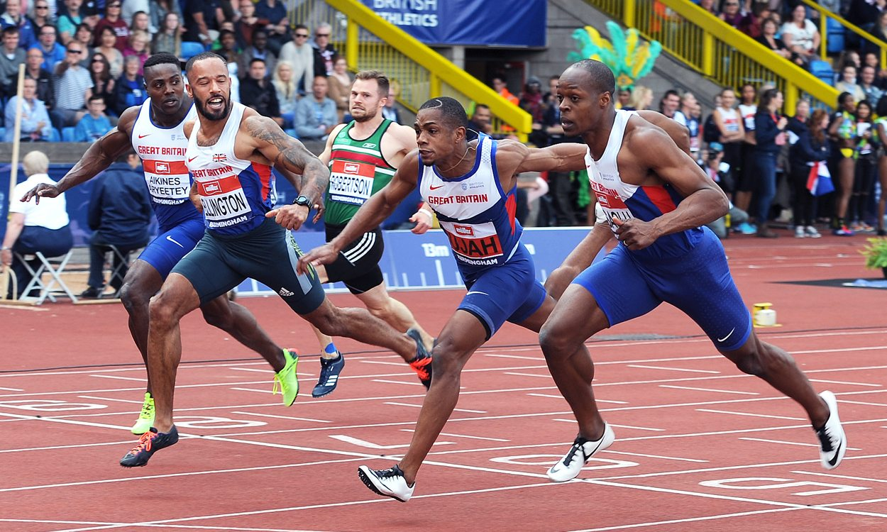 James Dasaolu and Asha Philip blast to British sprints titles