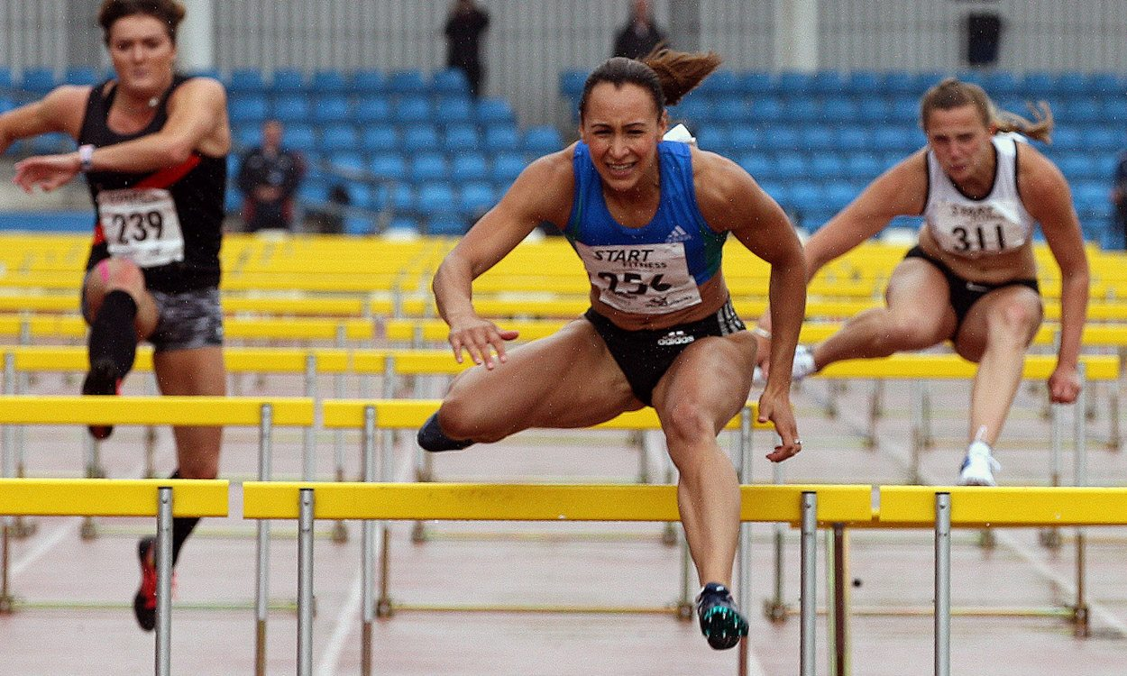 Jessica Ennis-Hill continues on her road to Rio at Northern Champs