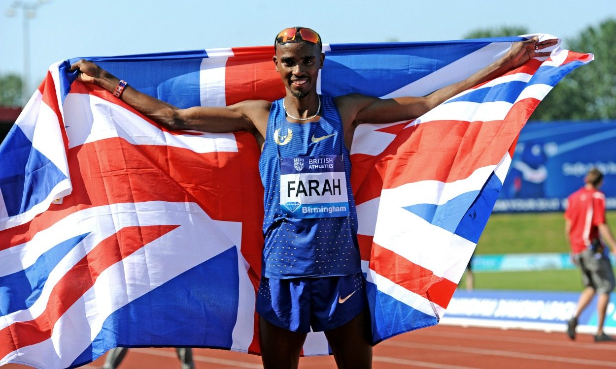 Mo Farah voted BASC athlete of the year