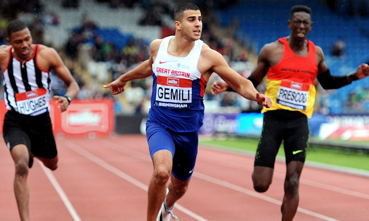 Adam Gemili elected on to BOA Athletes' Commission