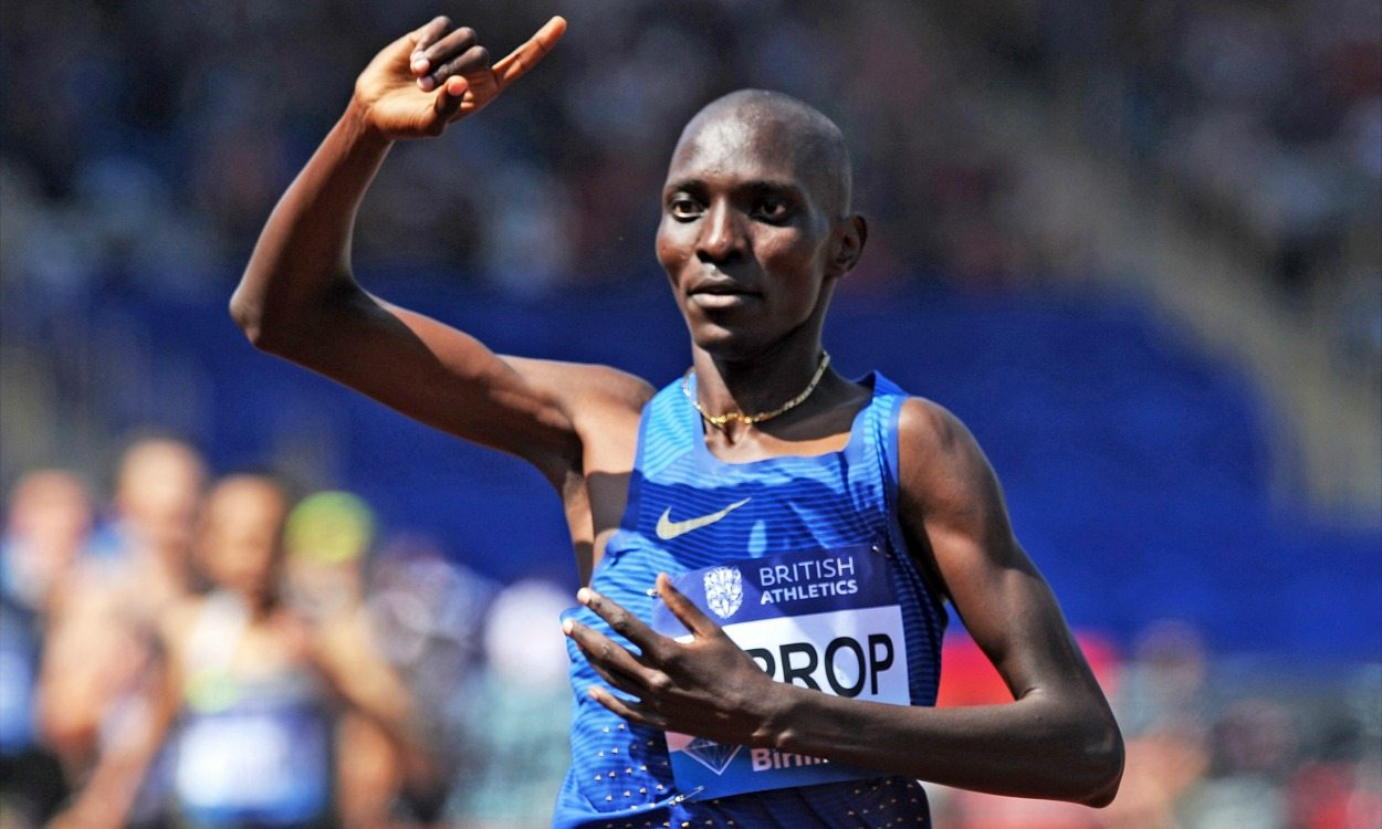 Asbel Kiprop: Standing out a mile