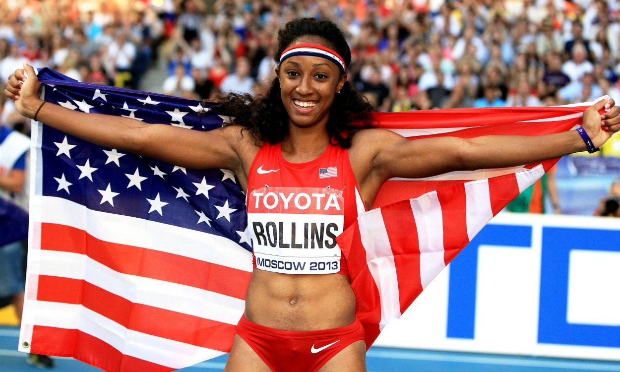 Brianna Rollins wins superb sprint hurdles at US Champs