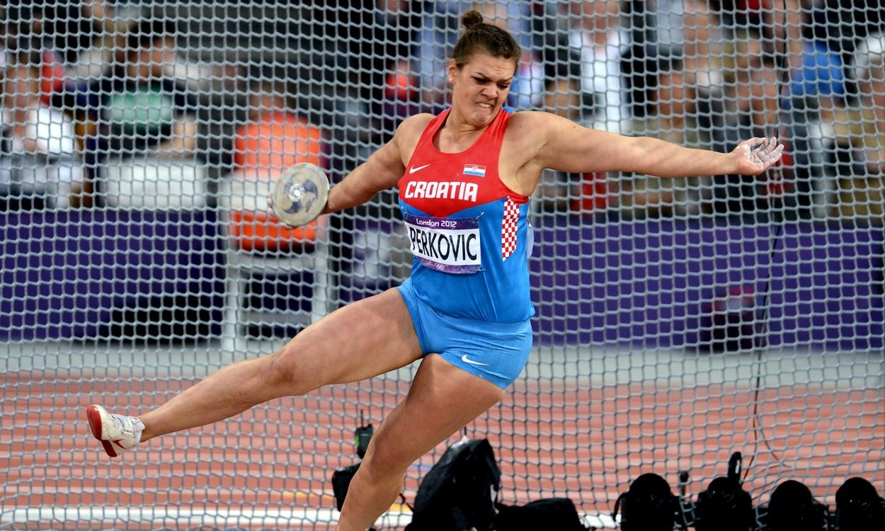 Olympic history: Women's discus