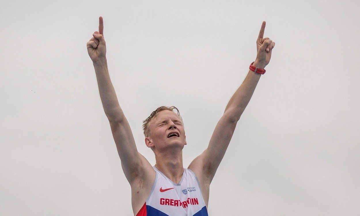Callum Wilkinson walks to gold at World U20 Championships