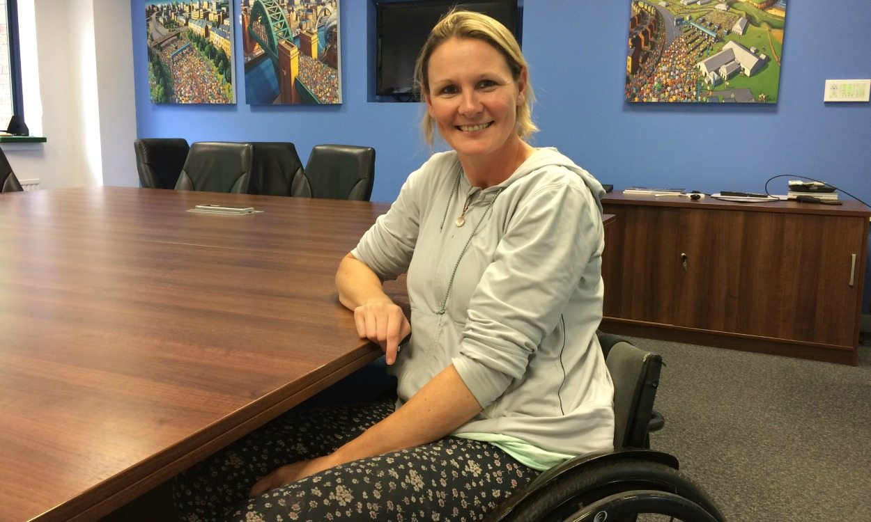 Claire Lomas to take on Great North Run using 'bionic suit'