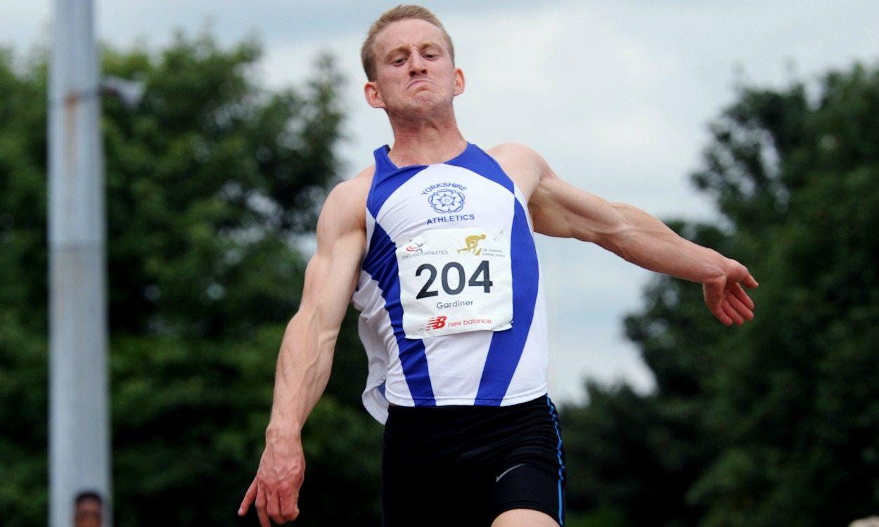 Long jumper Daniel Gardiner knocks on door of eight metres with England win