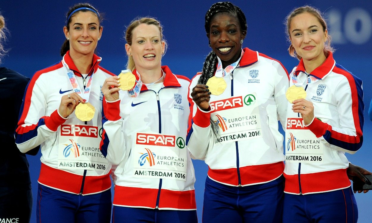 Relay delight for Britain on final day of European Championships