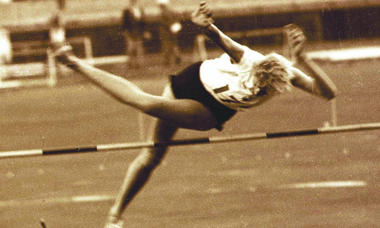 Olympic history: Women's high jump
