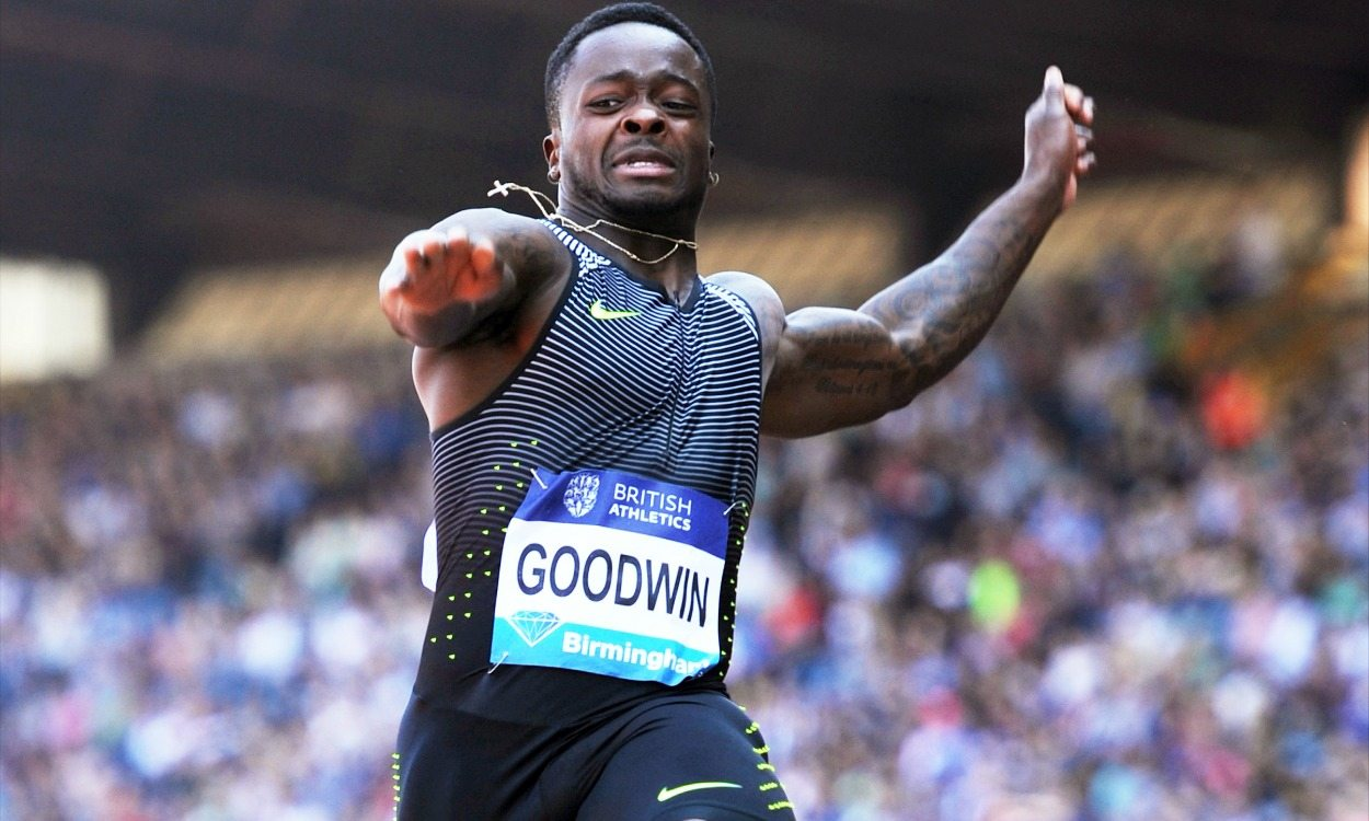 Marquise Goodwin leaping into the spotlight