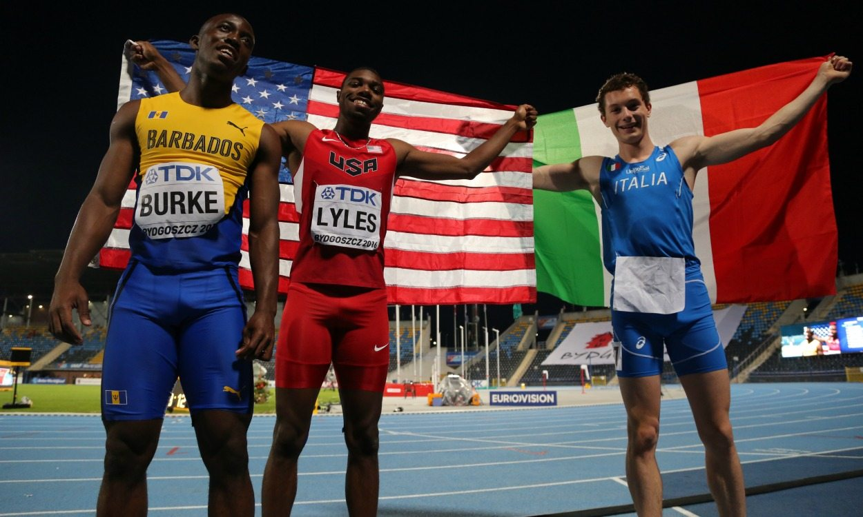 Noah Lyles and Filippo Tortu shine in the sprints