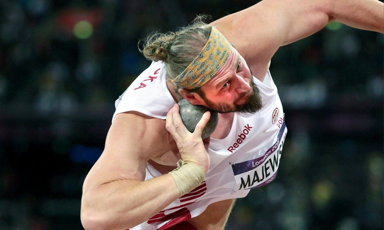 Olympic history: Men's shot put