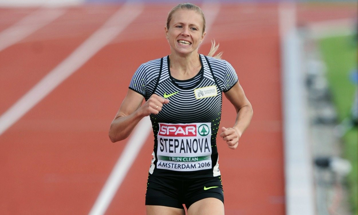 Former coach of Russian whistleblower Yuliya Stepanova handed 10-year ban