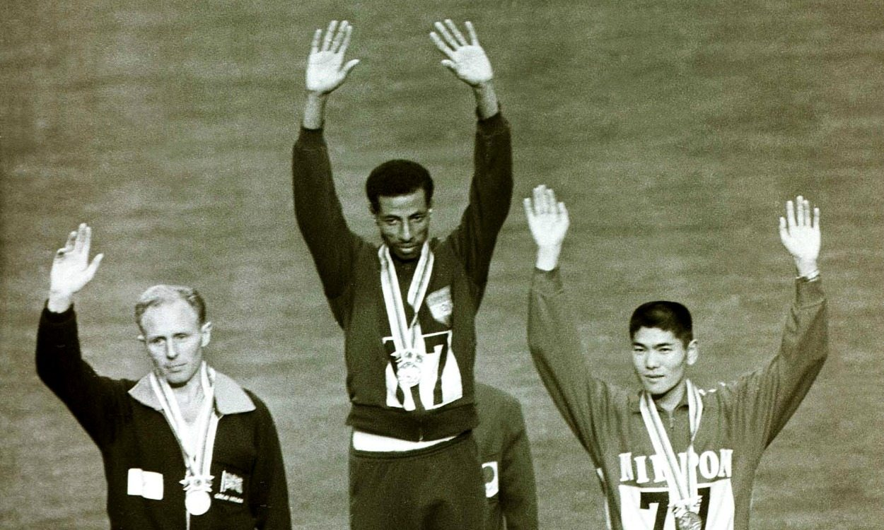 Olympic history: Men's marathon