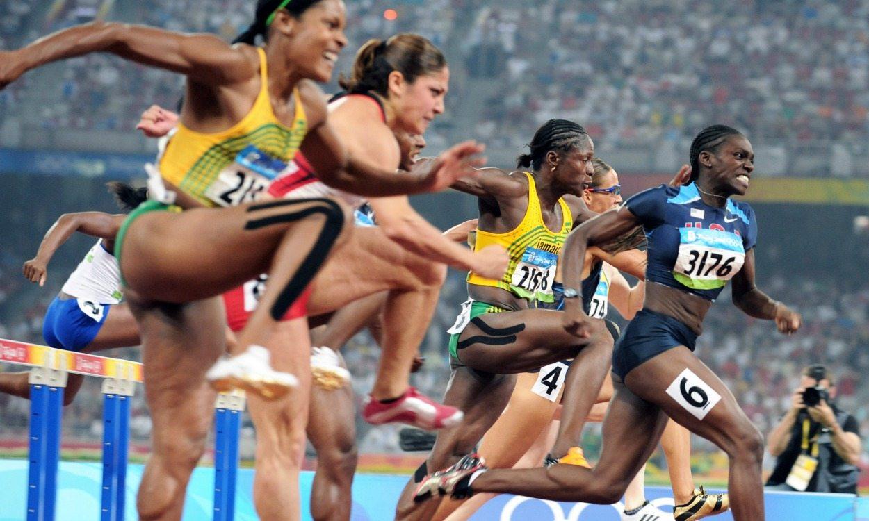 Olympic history: Women's 100m hurdles