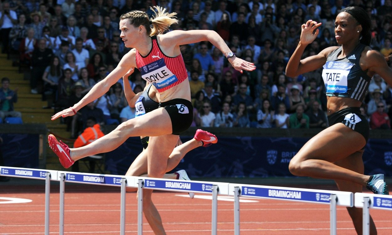 Eilidh Doyle, clearing barriers to the top