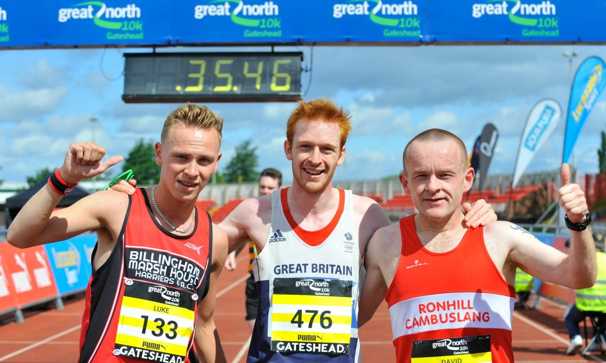 Sparrow Morley and Michelle Nolan win record edition of Great North 10k