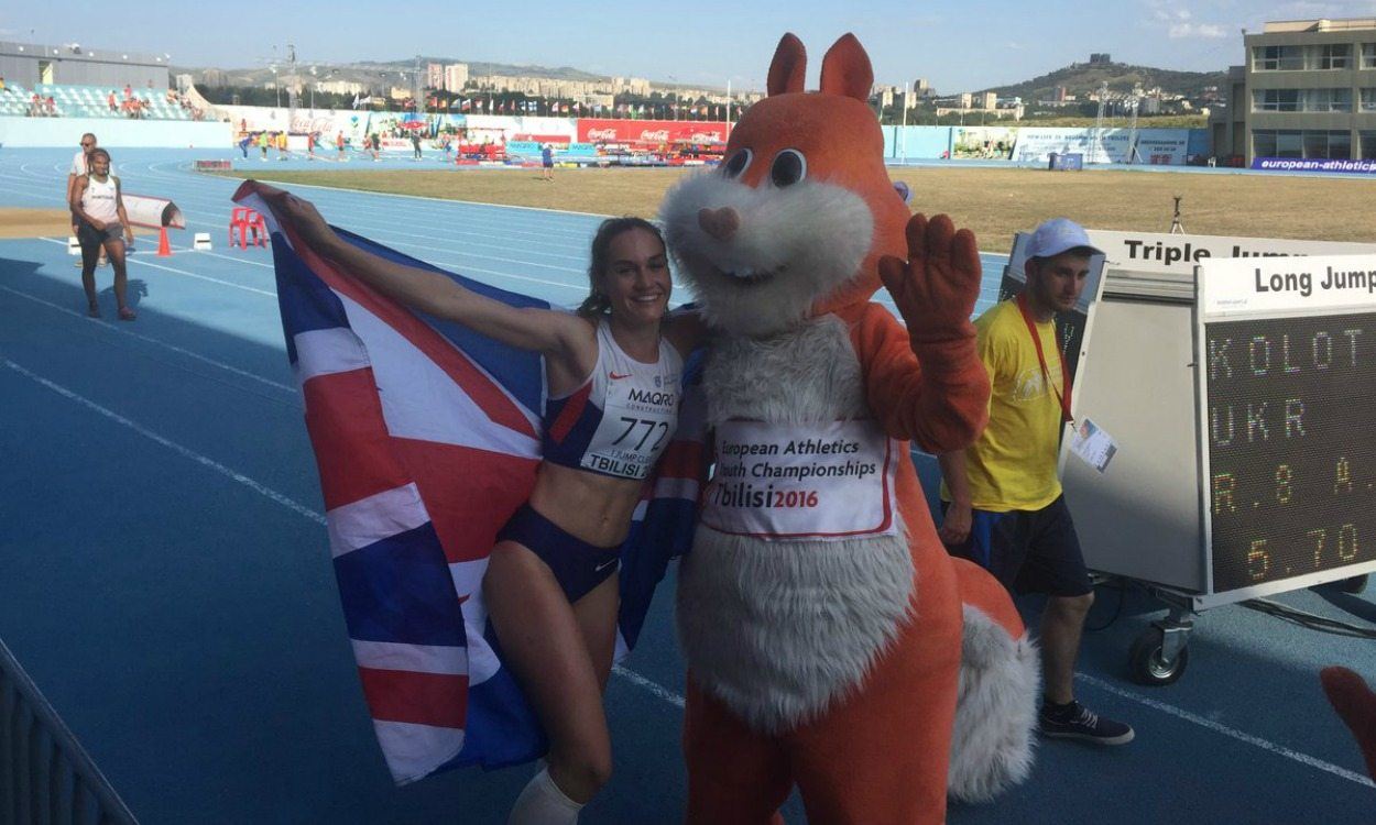 GB team tops medal table at European Youth Championships