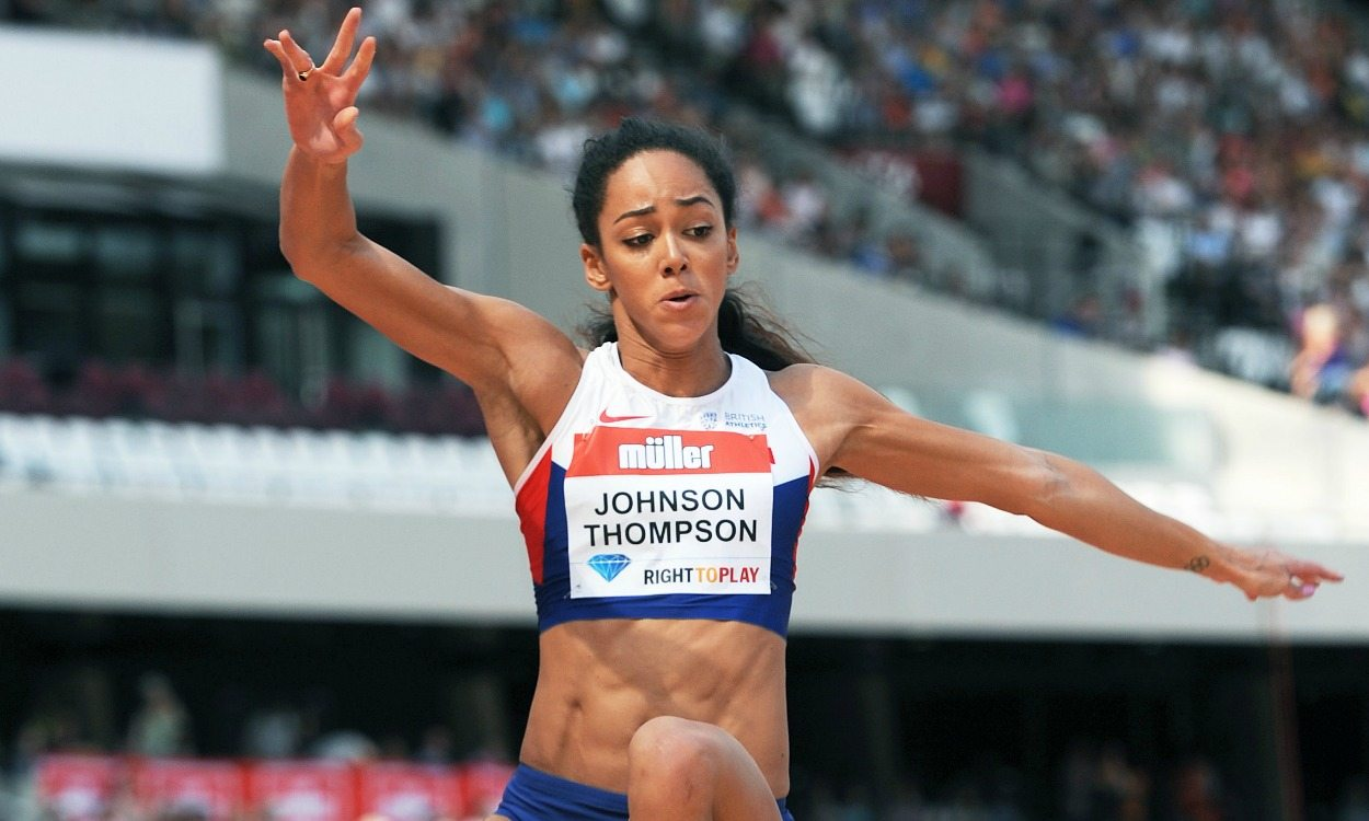 Anniversary Games showing puts to rest Katarina Johnson-Thompson's Beijing nightmare