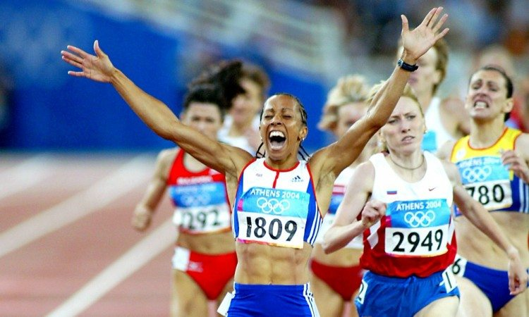 kelly holmes 1500m athens 2004