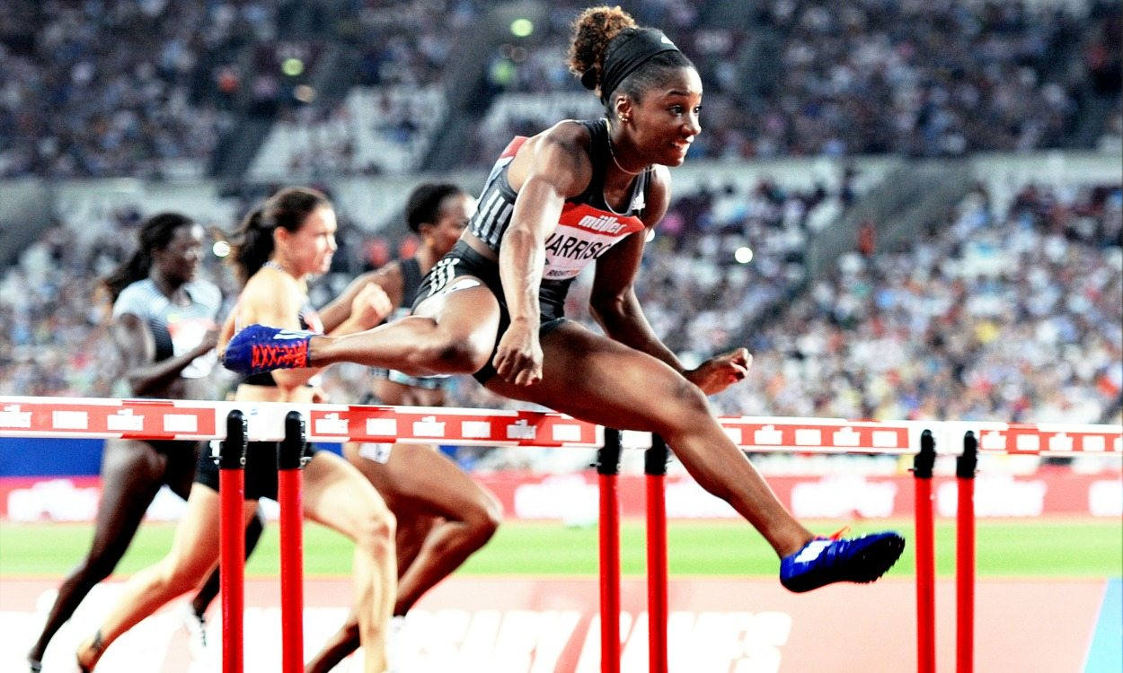 Catching up with hurdles queen Kendra Harrison