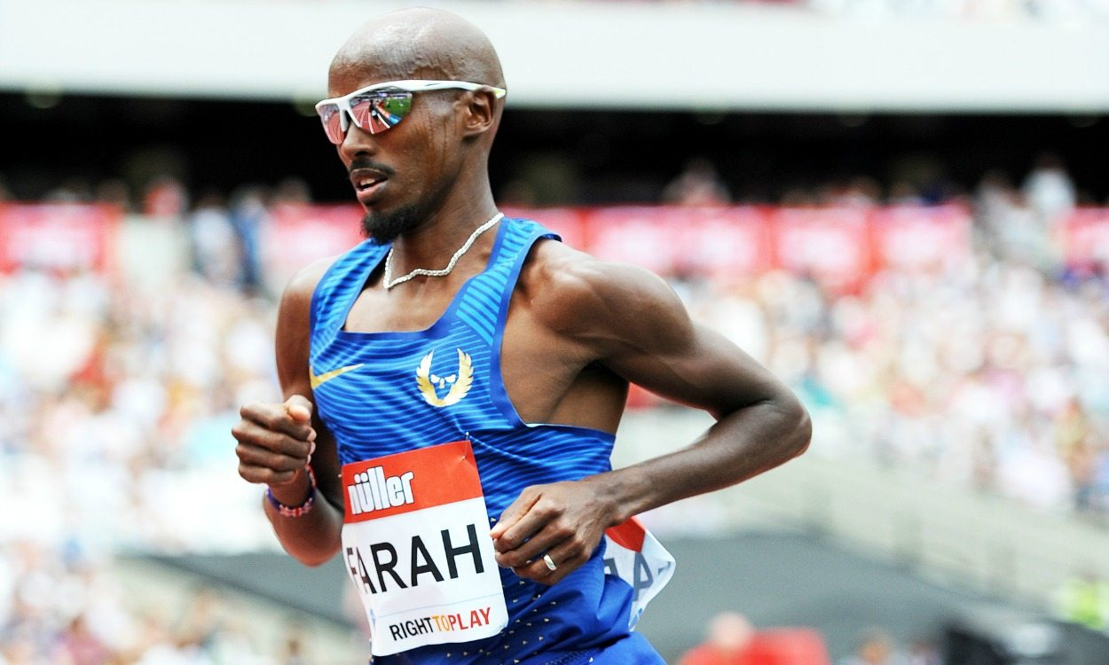 Mo Farah opens final track season with 3:34.19 1500m