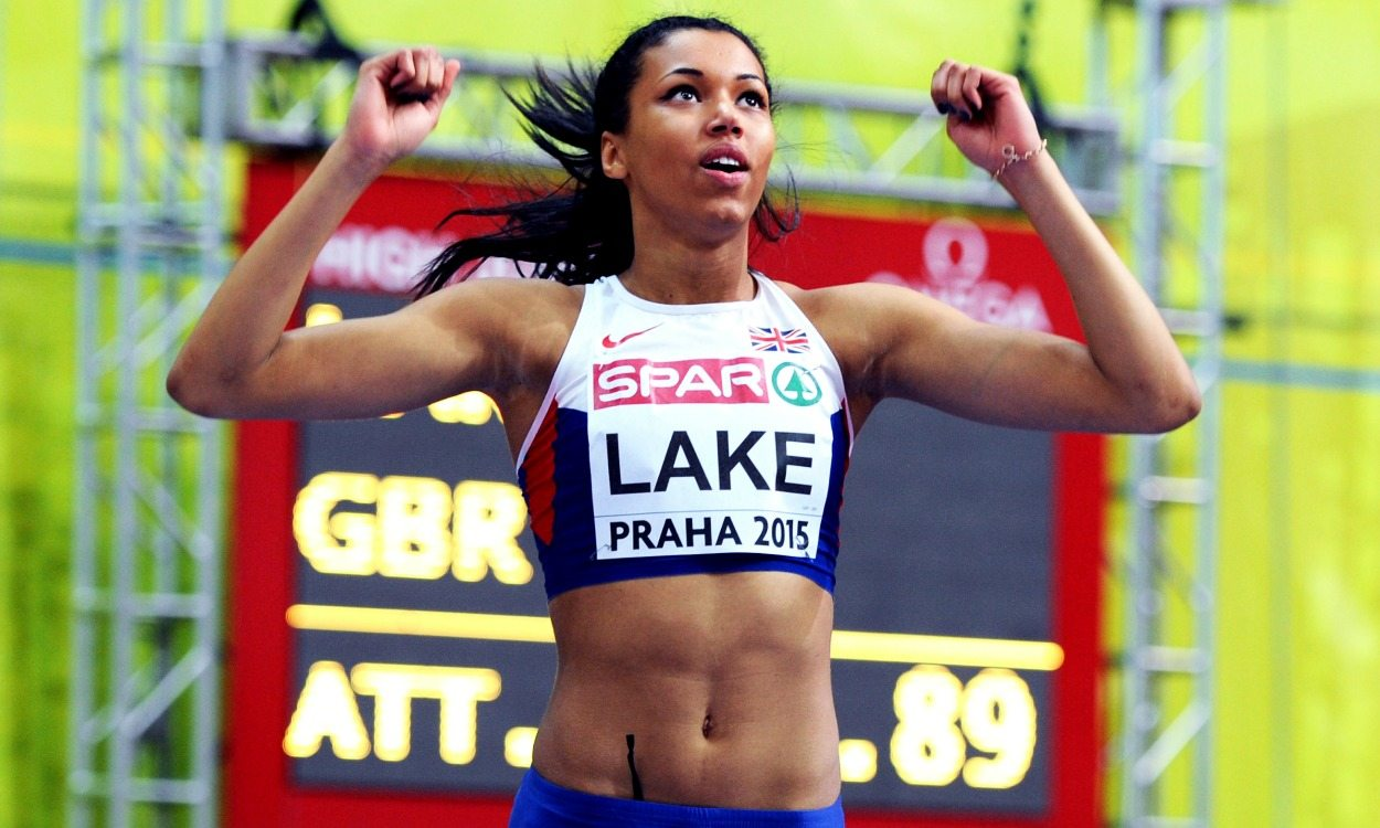 Morgan Lake holding on to Rio heptathlon hope