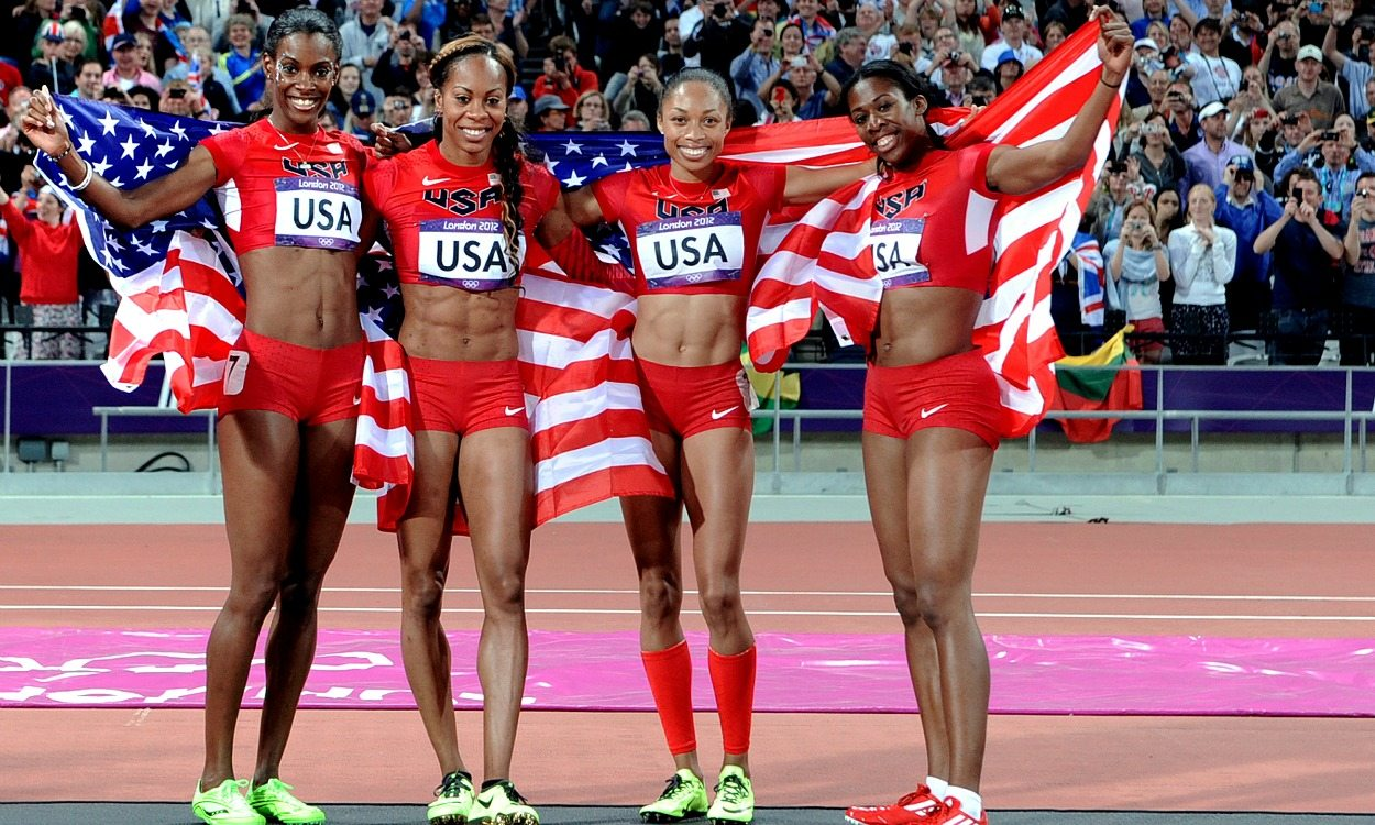 Olympic history: Women's relays