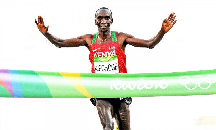 Eliud Kipchoge Rio 2016 marathon